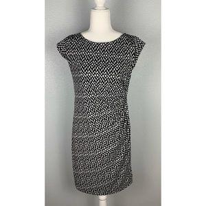 Chaus Black And White Dress